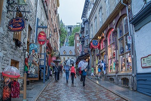 old-quebec summer holiday destination