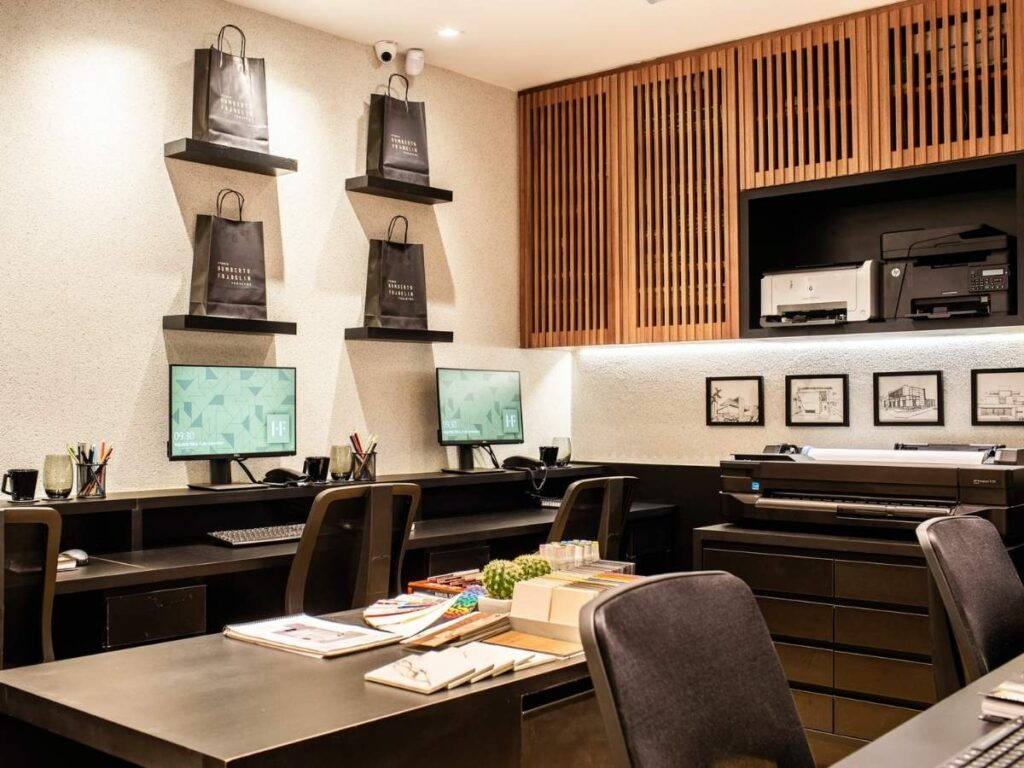 Office wall storage ideas